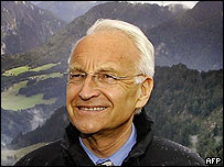 Christian Social Union (CSU) leader Edmund Stoiber