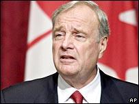Canada's Prime Minister Paul Martin