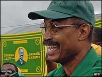 Zanzibar President Amani Karume