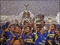 Celebración de Boca Juniors