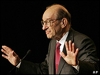 Federal Reserve chief Alan Greenspan