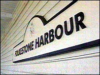 Folkestone Harbour sign