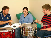 Music therapy at Three Bridges: Picture Spectrum