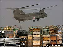 US Chinook at Chaklala