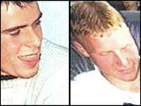 Andrew Robb, who was 19, and 18-year-old David McIlwaine, both from Portadown, were stabbed to death on 18 February 2000