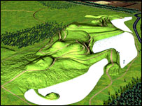 The Northumberlandia sculpture