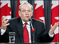 Former Canadian Prime Minister Jean Chretien