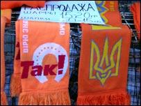 Ukrainian Orange Revolution scarves