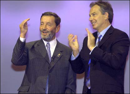 With Tony Blair