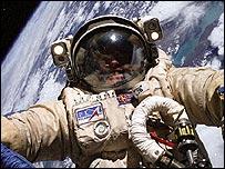 Astronauta ruso Foto Cortesía NASA