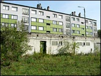 Housing estate in France