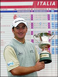 Graeme McDowell at the 2004 Italian Open
