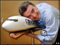 Michael O'Leary, chief executive of Ryanair