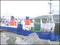 Ballycastle to Campbeltown ferry operated from 1997-99