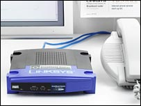 Vonage's broadband telephony system