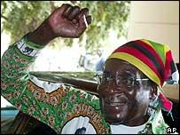 Zanu-PF leader President Robert Mugabe