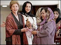 Laura Bush in Kabul