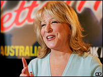Bette Midler in Australia