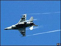 Israeli F-16 jet (file photo)