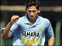 Paceman Ajit Agarkar was in man-of-the-match form for India
