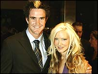 Kevin Pietersen and Caprice