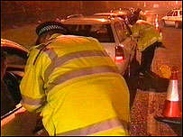 Officers question motorists