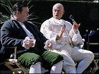 Ricky Gervais, Ross Kemp