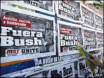 Afiches de Bush