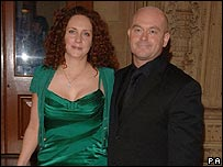Rebekah Wade and Ross Kemp