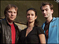 Quatermass stars Andy Tiernan, Indira Varma and David Tennant
