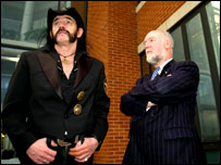 Lemmy and William Graham AM