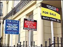 Avisos de inmobiliarias en Londres