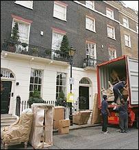 Mudanza en Londres
