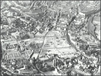 Aerial picture of Swansea (West Glamorgan Archive Service)