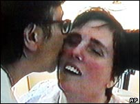 Terri Schiavo was visited by her mother in 2001