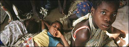 Niños en Angola