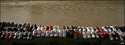 Zapatos de segunda mano en Afganistán
