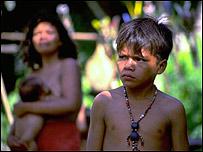 Abor�genes de la amazonia peruana