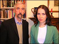 Siobhan Toman with her dad Edward