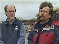 Professors Ted Bryant and Simon Haslett