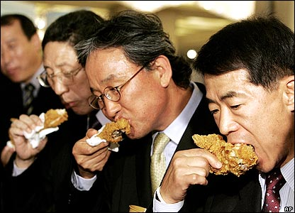 Image result for SOUTH KOREA EATING CHICKEN