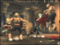 Screenshot of Mortal Kombat: Shaolin Monks