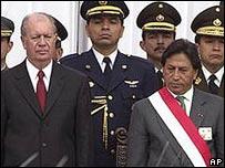 Lagos y Toledo en 2001.