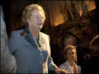 Lady Thatcher was honoured at the awards