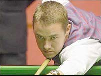 Former world champion Stephen Hendry