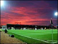Cambridge's Abbey Stadium home