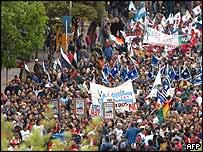 Anti-summit demonstration