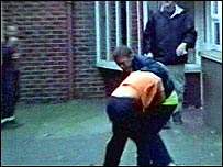 Fight in school referral unit