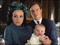 Lucy Coku and Toby Stephens in The Queen's Sister
