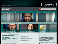 BBC Spooks homepage